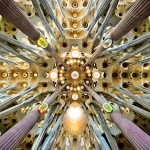 The main attraction of Barcelona; La Sagrada Família