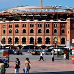 Las Arenas de Toros, Bullfightarena in Barcelona turns shoppingmal.